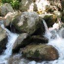 po potoku Koseških korit
