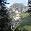 pogled na gore z Vršiča