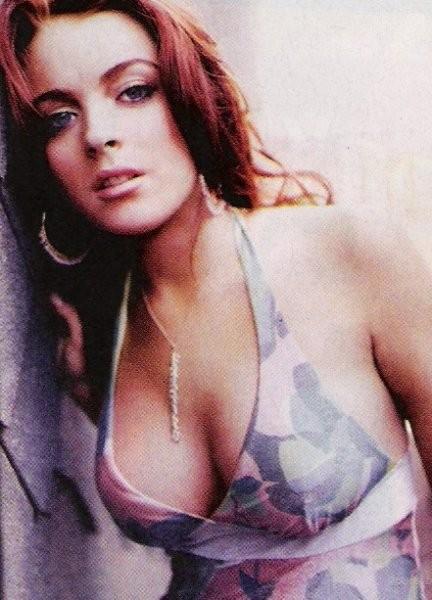 Lindsey Lohan - foto povečava