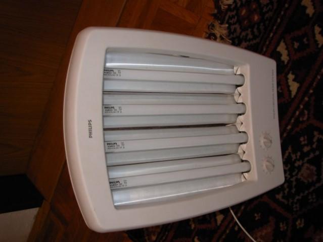Obrazni solarij PHILIPS, malo rabljen tako da so žarnice skoraj popolnoma nerabljene :)