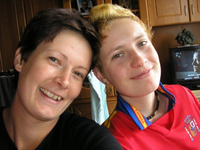 Jest (blond nkul več:))in moja sestra