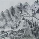Stari grad, OGLJE, 40x 30 cm