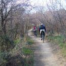 navijanje pedal na gladki, nezahtevni potki