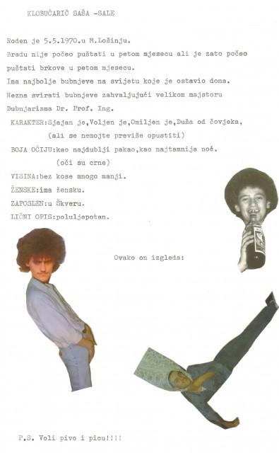 Zaječar 1989 - foto