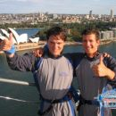 sli smo in splezali na most....134m nad morjem,...Harbour Bridge...tnx to Natalie's family