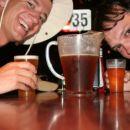 a jug of aussie beer in one of Brisbane pubs
