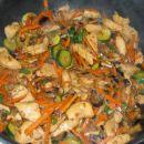 Piščanec in puran po kitajsko, feb. 2005