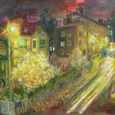 Brez naslova (Cankarjev dom), 2004, 80x100 cm - akril, olje na platnu