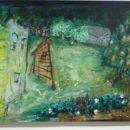 Brez naslova (maj), 2004, 70x90 cm - akril, olje na platnu
