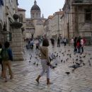 The centre of old Dubrovnik