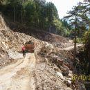Gradbišče ceste