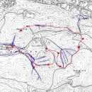 Zemljevid terenskih vaj in potek (tudi kraj postankov / predavanj)