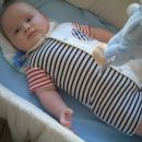 Marine baby... lovely! Grandma Adriana bought this nice suit for PAUL FE!