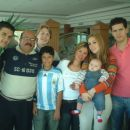 Tio Luigi, Tio Tomas, Daddy Danijel, Tio Joselin, Mommy, Tio Rod and me!