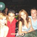 Dulce, Luigi, Pau y Danijel en el Coliseo de Mazatlan. 2005.
