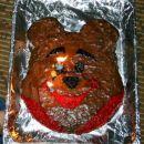 medvedek pooh za Matejev 2. rojstni dan