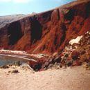 santorini-red beach-