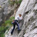starigrad-paklenica- jaz na plezanju :))) Užitek in pol!!!!!!!!