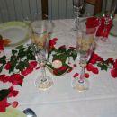 predpirprava na dekoracijo mize