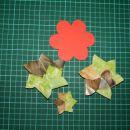 origami rožica