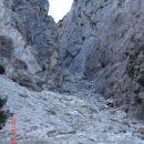Utrinki s poti skozi Grlo v Tamar