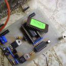 moj krmilnik za led diode z EPROM pomnilnim čipom