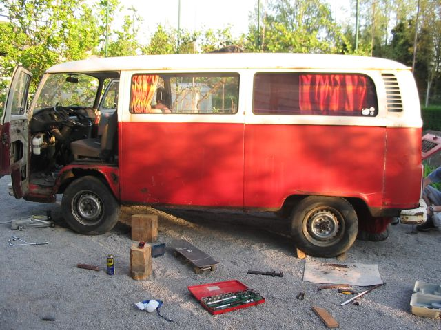 VW T2 1972, building a totally new car | The Late Bay