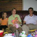 Sestra Ševkija i zet Merzuk sa djecom iz Brisbane-Australija.