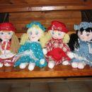 Klara, Pupa, Petra, Katarina