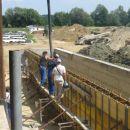 betoniranje srednje stene