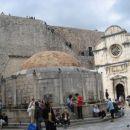 Znan vodnjak v Dubrovniku