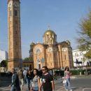 obnovljena pravoslavna cerkev v Banja Luki