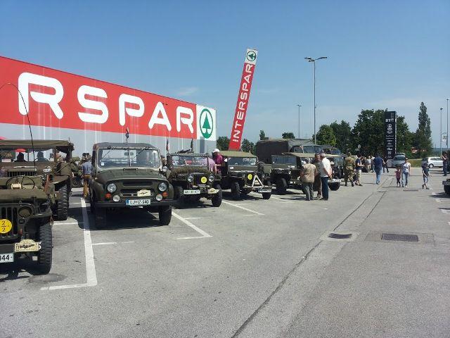 2016.5.28. - Vojaška vozila MS - foto