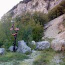 Trasa teka iz Podnanosa.