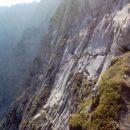 Par na vrhu vzpona po via ferrati.