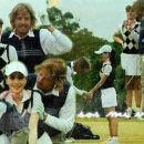 Martin y Monita-golf