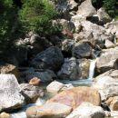 Dolžanova soteska:tukaj še bistra in čista  Tržiška Bistrica