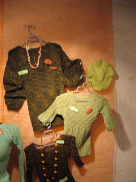 Razstava ročnih del DI Trbovlje dec. 2008 - foto povečava