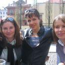 Petra, moi in Anja pred Mačkom