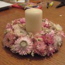 venček iz suhih rož