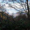 Pogled proti Tanigawadake.