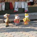 Najprej plesoci tiger:)