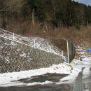 Prve tri osvojene vrhove pa Mala in Velika Polhovgrajska Grmada in Tosc. Zacetek poti.