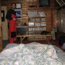 In dospemo v prijeten prostorcek, v katerem preziviva ne le ne mrzlo, temvec vroco noc pod